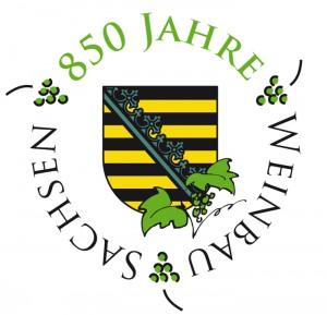 850 Jahre Weinbau in Sachsen | Logo