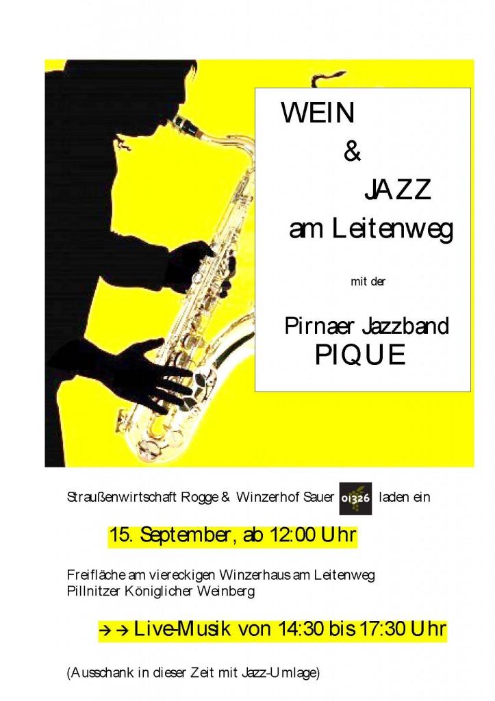 Wein & Jazz am Leitenweg